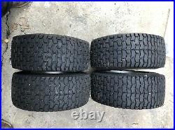 Ride On Mower Wheels Tyres 16x6.5-8 4 Stud. Golf Buggy Go Kart Cart Set Of 4