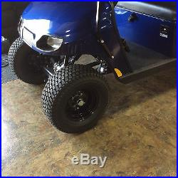Set of 4 20 inch golf cart wheels with LIFT KIT COMBO for 2009- up CLUB CAR DS