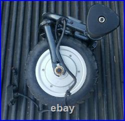 Sun Mountain Golf Cart Caddy e cart wheel and motor w fork