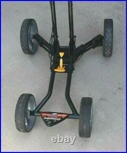 Sun Mountain Micro Cart 4 Wheel Collapsible Push Golf Cart