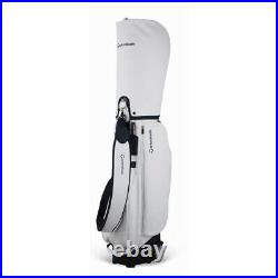 TaylorMade 2019 WMS WHEELED Women Caddie cartbag 8.5In 5Way 8.5lb EMS White+Navy