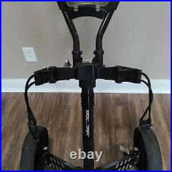 Tour Trek 3 Wheel Collapsible One Click Golf Push Pull Cart
