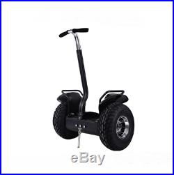 Two Wheel 19in Off Road Electric Self Balance Golf Cart Vehicle With Remote Key9