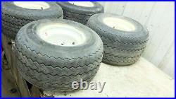 Yamaha Golf Cart G2 wheels and tires wheel set