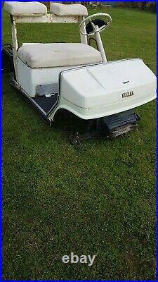 Yamaha Petrol Golf buggy Spares Read advert. No wheels or engine. Go cart