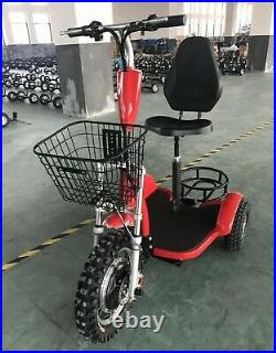 Zappy 1000w Electric Golf Cart 3 Wheel Scooter 20-22mph
