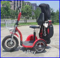 Zappy 1000with48v Electric Golf Cart 3 Wheel Scooter 20-22mph BRAND NEW